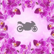 Motorcycle - 1, Airbrush Nail Stencil self-adhesive 30 pcs