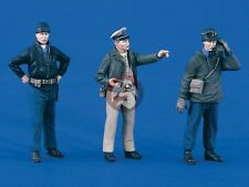 Verlinden 1/35 US Navy Landing Craft Crew and Beach Party WWII (3 Figures) 1864