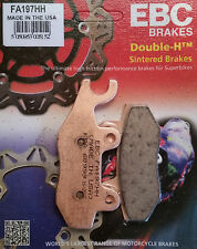 EBC/FA197HH Sintered Brake Pads (Front) - Honda VT125C, XL125V Varadero, CBF250