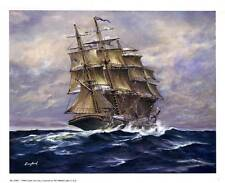 Tall Ship Under Sail #2 by Langland - 11x9 In. Art Print