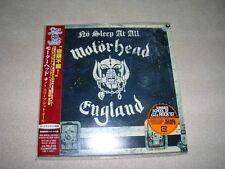 MOTORHEAD NO SLEEP AT ALL Japan mini lp CD SEALED