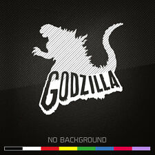 GODZILLA Decal Sticker | Gojira | Famous Monsters | Choose Color