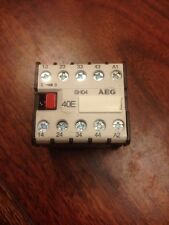 AEG SH04 COIL MINI RELAY VDE-0660