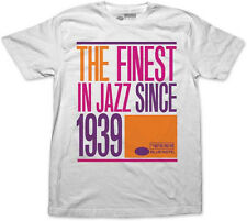 Blue Note Records-The Finest Jazz Since 1939-Retro Logo-XXL White T-shirt