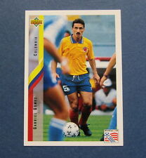 GABRIEL  GOMEZ (COLOMBIA)  WORLD  CUP  1994  SOCCER  CARD