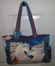 Laurel Burch Horse Horse's Shoulder Hand Bag Purse Tote NWT