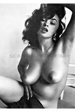 Bonnie Logan sexy nude print female girl big busty breasts photo model picture