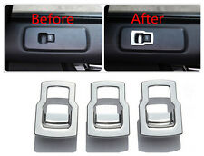Window Lift Button Cover trim 3pcs For Land Rover LR4 Discovery 4 2010-2015