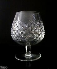WATERFORD Crystal 'ALANA' Cut BRANDY GLASS. Goblet Balloon Ireland