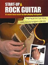 Aprende a jugar Rock Guitar fácil Teach Yourself método ficha de libro de partituras