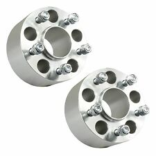 "2pcs 2.5"" 5x4.75 to 5x4.75 Hubcentric Wheel Spacers w/ Lip 