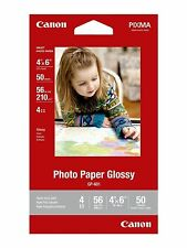 "Canon Photo Paper Glossy, 4""x6"", 50 Sheets, 56LBS - NEW"