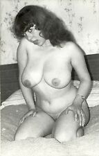 666 # Photo-PC ca 1960 nude Pin up girl nu Erotik Busen busty dick fett fat