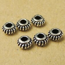 12 Pcs 925 Sterling Silver Vintage Celtic DIY Spacers Charms WSP009X12