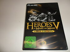 PC  Heroes of Might & Magic 5 Gold