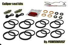 Suzuki GSX-R 750 front Tokico radial brake caliper seal repair kit L0 2010 GSXR