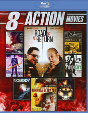 8 Action Movies (Blu-ray Disc, 2014, 2-Disc Set) Road of no Return/tunnel Vision