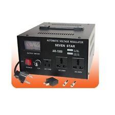 1500 Watt Voltage Converter STABILIZER 110 220V Up/Down
