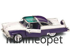 ROAD SIGNATURE 92138 1955 55 FORD CROWN VICTORIA 1/18 DIECAST MODEL CAR PURPLE