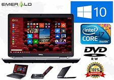 Dell Latitude Laptop E6430 Intel Core i7 Turbo 3rd Gen 4GB 1TB Win 10 Pro WiFi
