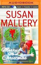 MARRY ME at CHRISTMAS  by Susan Mallery (2015)  Large Print Hardback