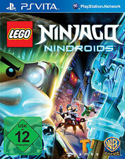 LEGO Ninjago-NINDROIDS pour playstation ps vita | article neuf | version allemande!