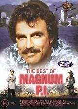 THE BEST OF MAGNUM P.I PI (DVD, 2004, 2-Disc Set) EX RENTAL DISC ONLY CAN POST