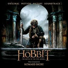 The Hobbit: The Battle of the Five Armies Motion Picture Soundtrack 2CD
