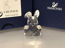 Swarovski Figur Hase 3,7 cm. Mit Ovp & Zertifikat. Top Zustand !!