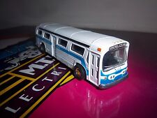 NEW YORK BUS CENTRAL STATION DIECAST METAL PULL BACK & GO NYC BUS MODEL #3659 NY