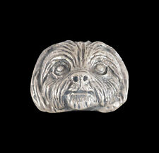 Stainless Spencer the Shih Tzu Ring Custom Size Animal Handmade Toy Dog R-197ss