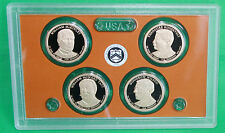 2013 Proof Presidential $1 Coin Set COINS ONLY 4 Golden President One Dollars