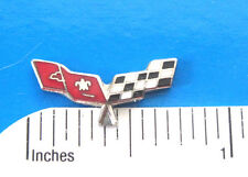CORVETTE FLAGS  - Hat pin , lapel pin , tie tac . hatpin GIFT BOXED