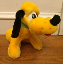 Vintage Plush Pluto Disney Stuffed Animal Dog