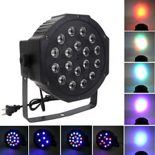 Beauty 30W 18-RGB Stage PAR Light Disco DJ Lighting DMX-512 Strobe Light