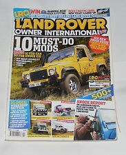 LAND ROVER OWNER INTERNATIONAL APRIL ISSUE NUMBER 4 2009 - 10 MUST DO MODS