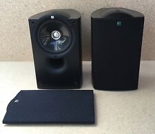 KEF Bookshelf Speakers (Pair) - Black Ash - Q Series Q Compact