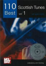 110 Best Scottish Tunes Vol. 1 : With Guitar Chords (2011, CD / Paperback)