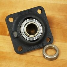INA GE25-KRR-B Ball Bearing with Radial Insert, Mounted to LG12 Base Flange