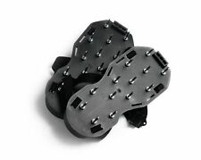 Spiked aeration Shoes for screeding, Black colour, Assembled and ready to wear