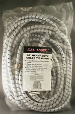 """48"""" HEAVY DUTY BUNGEE TIE DOWNS 10 Pack 12 mm Elastic Cords NEW Coated Hooks"""