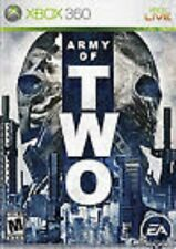 Army of 2 Two  GAME (Xbox 360) **FREE SHIPPING!!