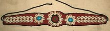 Beaded Cowry Belt new handmade sash cowries bead beads bellydance Africa abbc101