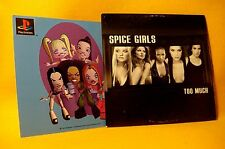 Cardsleeve Single CD Spice Girls Too Much 2TR 1997 (inc. Playstation Card) Pop