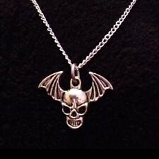 Avenged Sevenfold Necklace Death Bat Charm Pendant A7X Chain Skull Wings *UK*