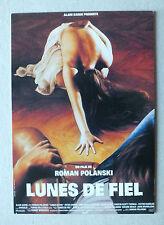 CP DU FILM - LUNES DE FIEL DE R POLANSKI - C298 *