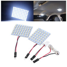 10pcs 48-SMD 1210 LED Panel Interior Lighting Bulb Car Auto White Lights CC