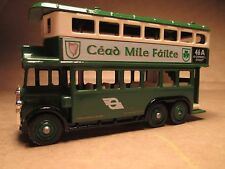 Cead Mile Failte Double Decker Days Gone Bus by Lledo Die Cast 46A O'Connell St.