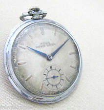 PRIMA HOMIS WATCH Vintage 1930s SWISS MADE FOR NAZI GERMANY Red Army Trophy