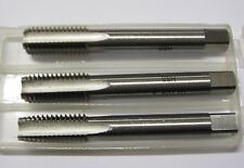 "1/4"" X 28 UNF TAP SET OF 3 INCLUDING PLUG TAPER SECOND TAPS"